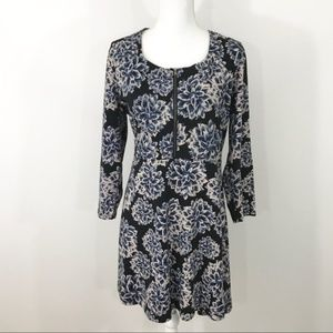 Brooklyn Industries Floral Fit And Flare Dress